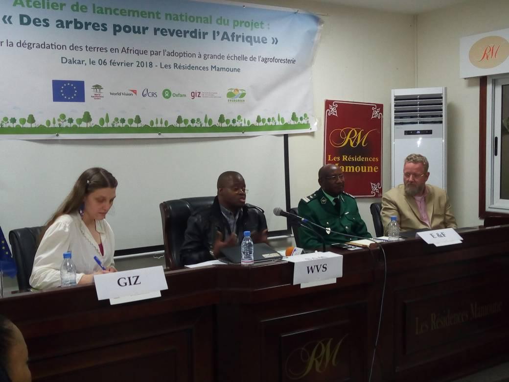 Lancement du Projet de reverdissement à grande échelle: World Vision Sénégal cible 80 000 ménages pour améliorer leurs conditions de vie