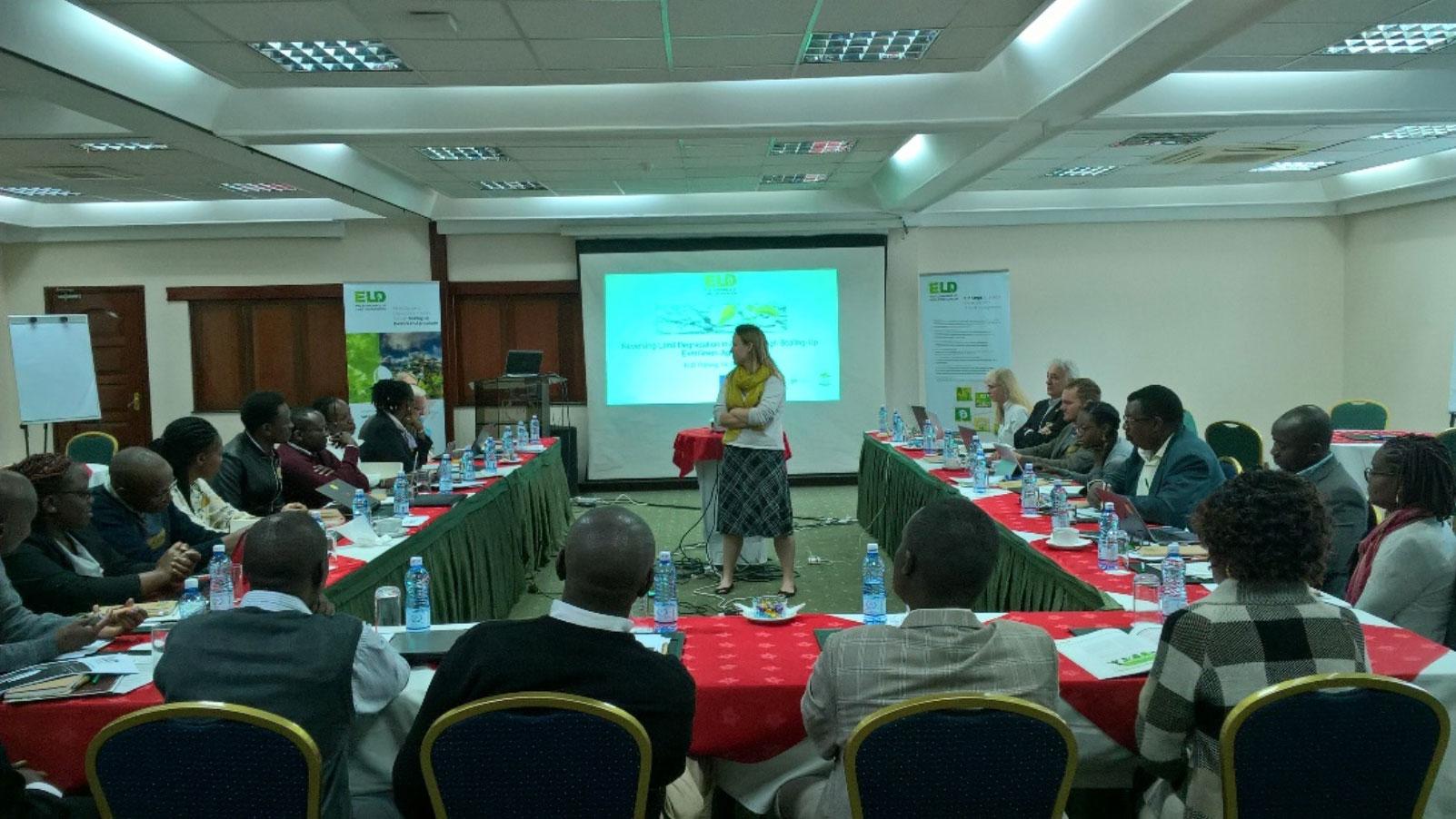 Assessing economics of land management to regreen Kenya