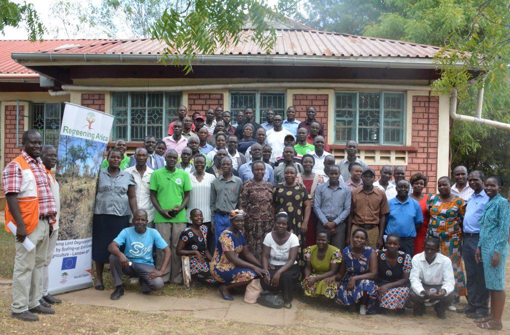 Kenya challenged to meet regreening target
