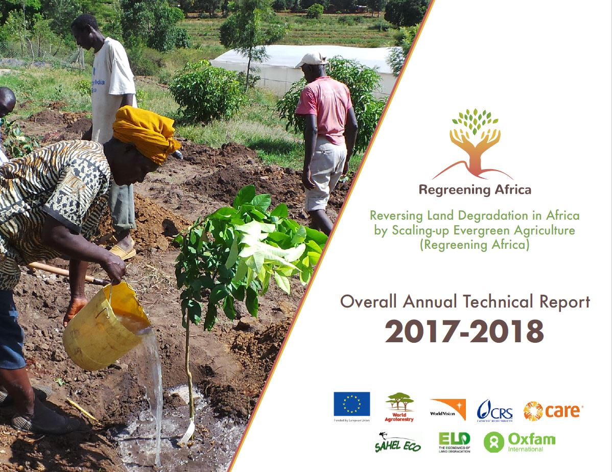 Regreening Africa – Project Annual Technical Report 2017-2018
