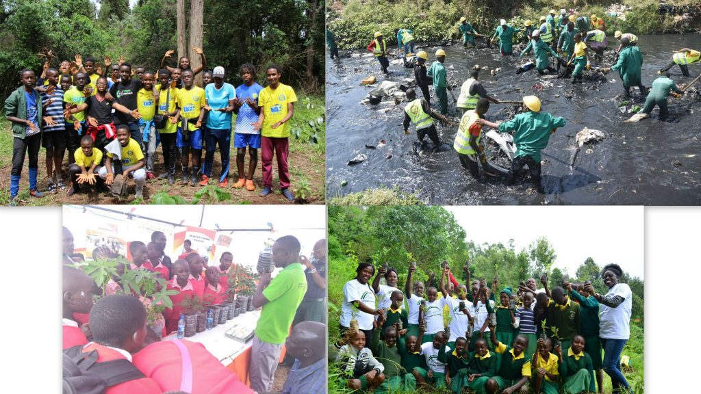 Young people leading restoration in Kenya