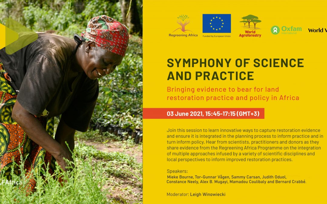 Restoring Africa's Drylands: Symphony of practice and science