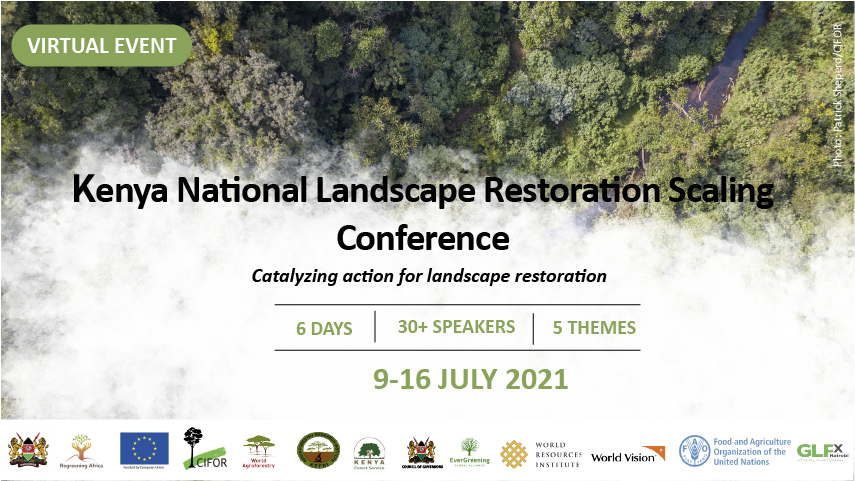 Kenya National Landscape Restoration Scaling Conference